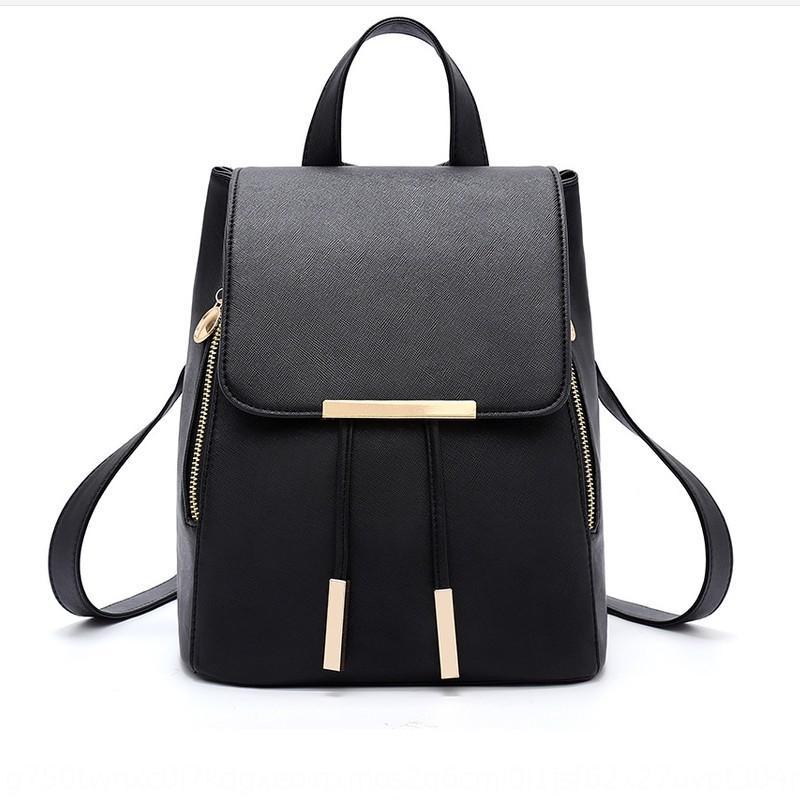 casuais da moda coreana 2019 New backpackstyle casuais mochila coreano saco 2019 Novo estilo de moda feminina mochila das mulheres