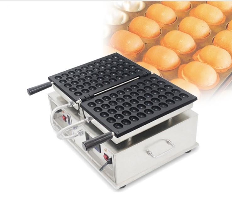 الاستخدام التجاري غير عصا 50PCS آلة البيض فقاعة الهراء صانع مع العرض الرقمي الكهربائية اليابانية البيض الهراء صناع