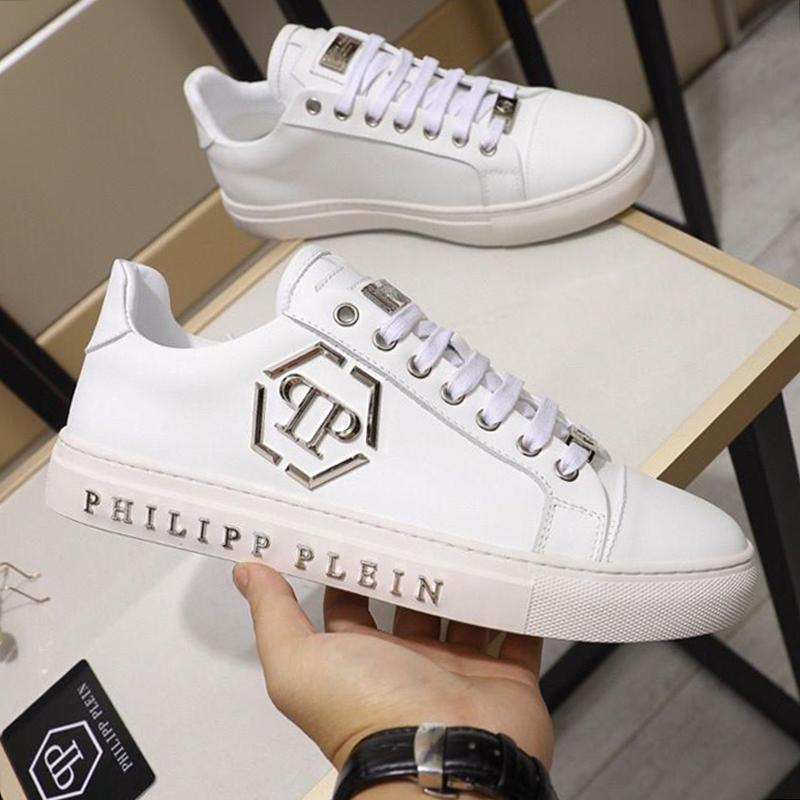 Lo-Top Sneakers Declaración de los hombres '; S Zapatos 2020 Nuevo Popular de alta más el tamaño de Deportes ata para arriba el estilo de la vendimia transpirable Scarpe Da Uomo Zapatos D