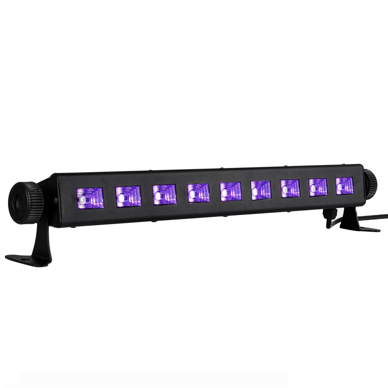 4pcs 36W Light Purple Convient pour Halloween Fêtes de Noël LED Bar APPLIQUES Light Wash bar Lumières d'éclairage