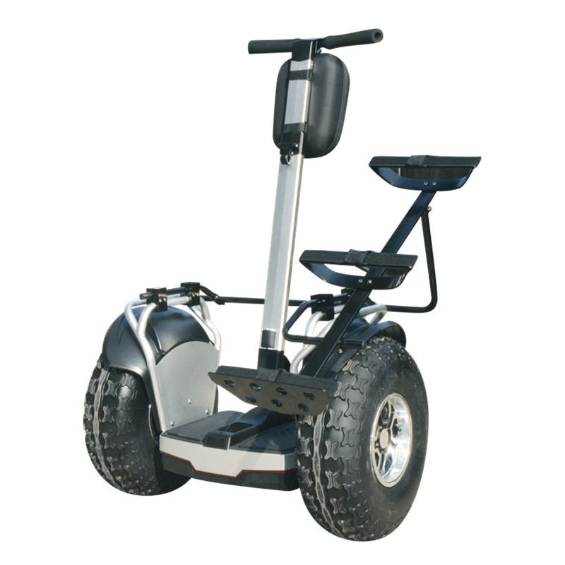 19-Zoll-Golf-elektrischer Roller Zwei-Rad-Selbstausgleichungs-Roller Big Rad 60V 2400W APP AUS RAUM ROTEL ROOTER HOVERBOOT GOLF CARRIER
