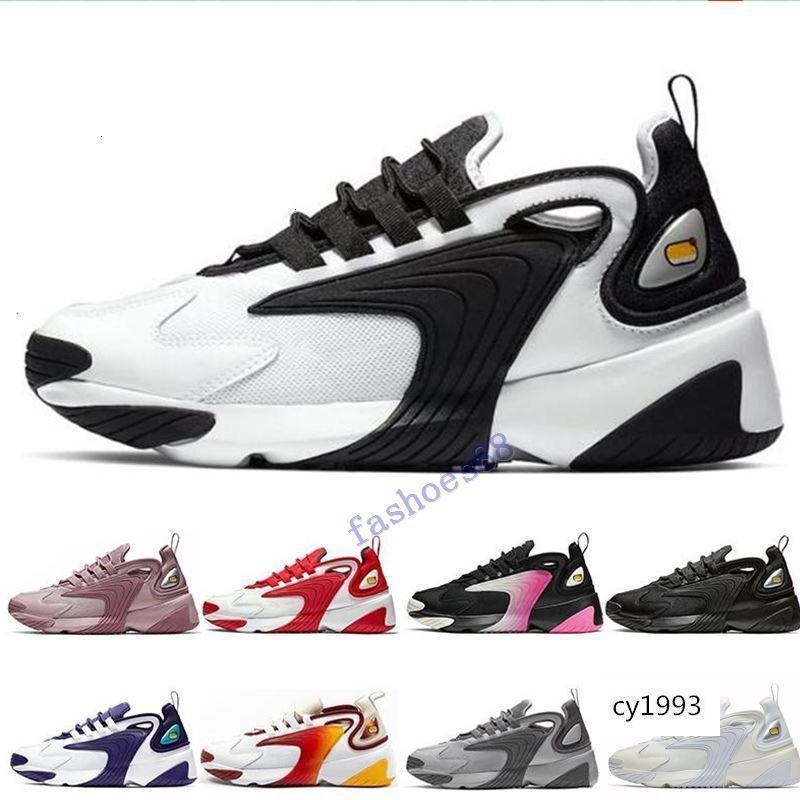 Увеличить M2K 2K Tekno 2000 Тройные Черные Белые Темно-серый для женщин людей работают 90-ая стиль дизайнер СПОРТИВНЫХ кроссовок обуви
