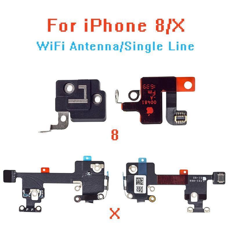 Für IPhone8 8P X WIFI / GPS Signal Antenne Empfang Flexkabel und GPS-Abdeckung Set Ersatz Reparatur Teil