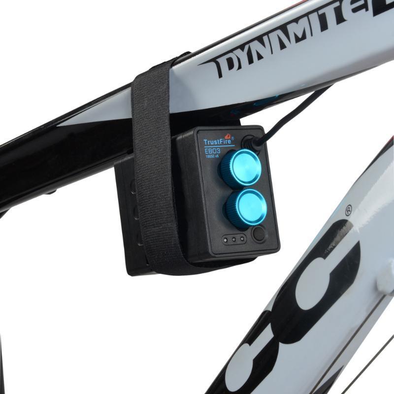 Vélo étanche 18650 Batterie Power Bank Box Case USB 5V chargeur de téléphone DC8.4V batterie Case Box pour Led Bike Light