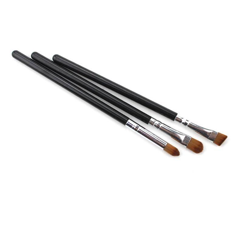 Um conjunto / 3 peças ferramenta composição escova cara escova da composição nariz ocultador base líquida sobrancelha delineador cora pó