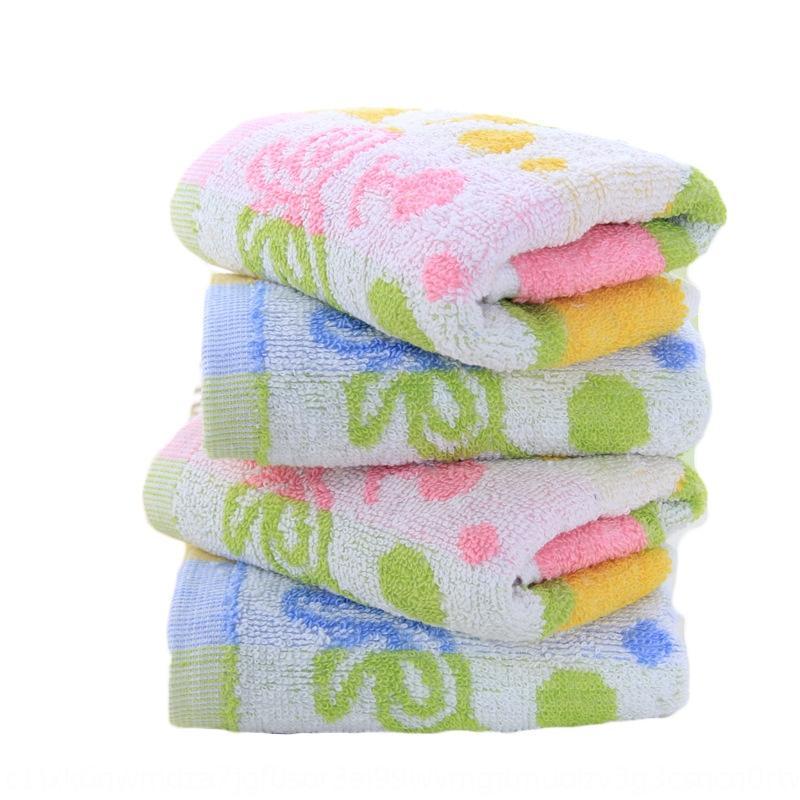 25*50 soft absorbent children's kindergarten baby's facial towel cartoon pattern children's towel