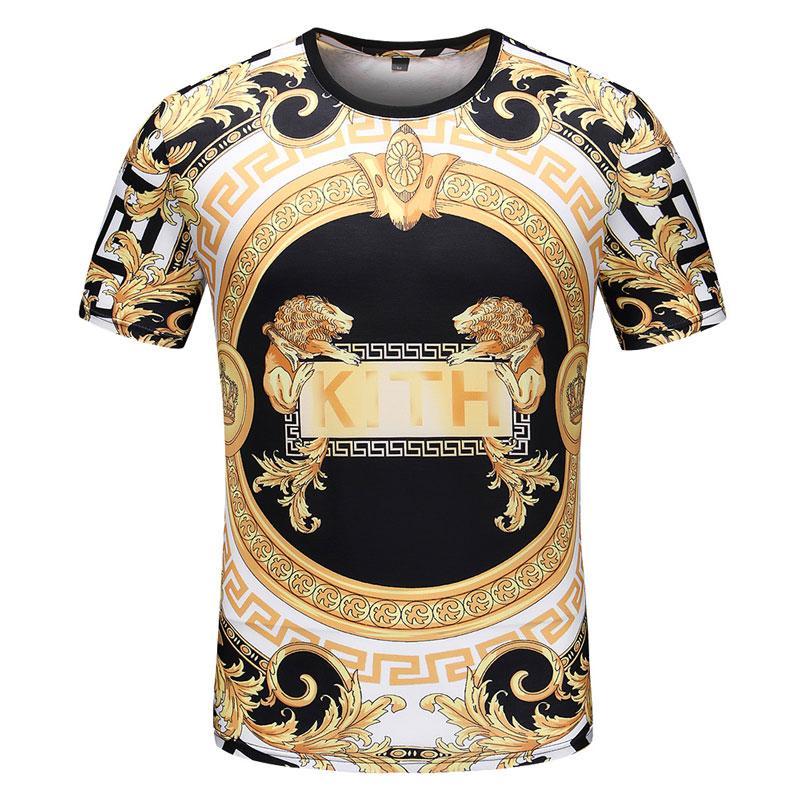 Modedesigner Männer T-Shirts für Herren T-Shirt mit Buchstaben luxuriösen Sommer Kurzarm Herren T-Shirts Medusa-T-Shirt Kleidung M-XXL