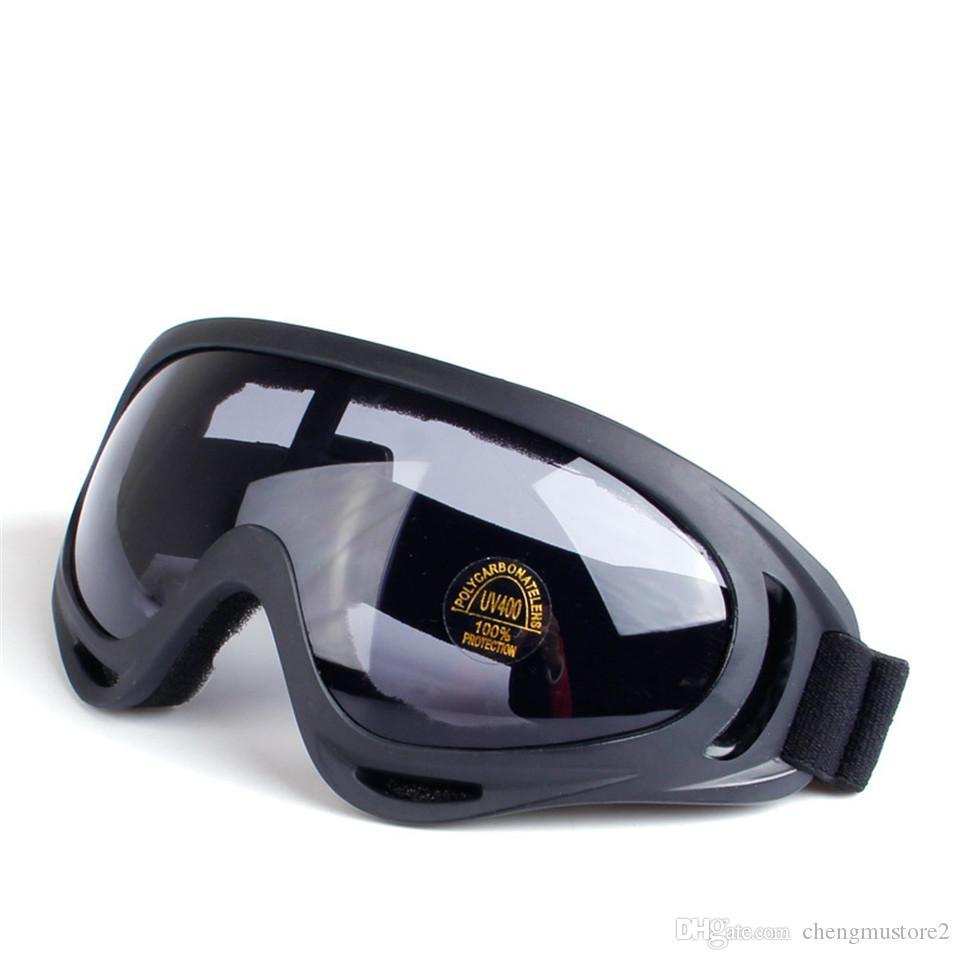 Hot Motorcycle Goggles Riding Glasses Outdoor Protection CS Anti-shock Tactical Glasses Ski Outdoor Sports Windproof