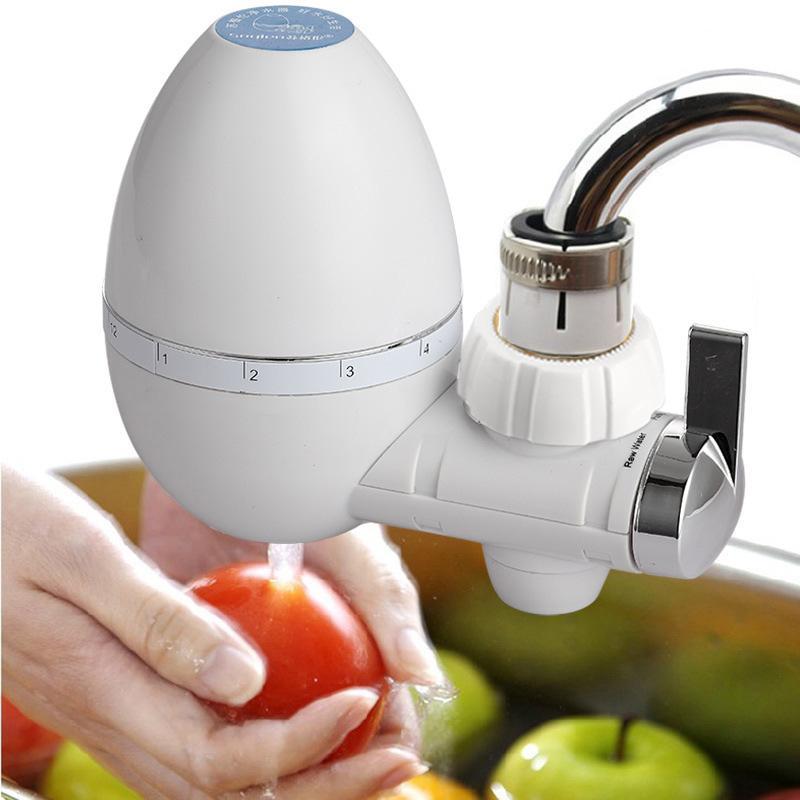 Tap Water Purifier Küchenarmatur Waschbar Keramik Percolator Mini-Wasser-Filter Filtro Rust Entkeimung Ersatzfilter