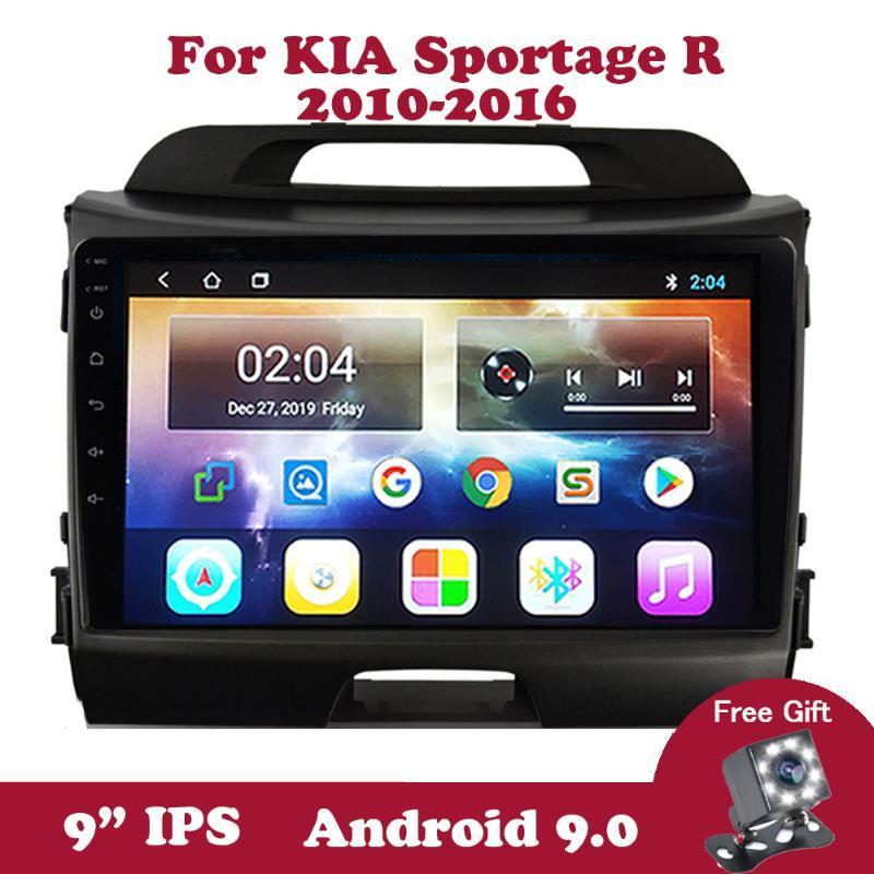 """Android KIA Sportage R için 9 2010 2011 2012-2020 Multimedya Player 9"""" inç DVD Araba Radyo Autoradio video Carplay OBD2 DAB araba dvd IPS"""