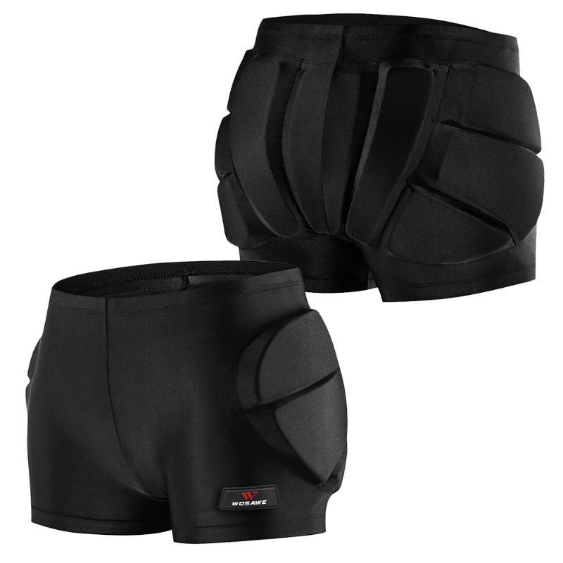Elbow & Knee Pads EVA Paded Hip BuProtection Short Pants Adjustable Impact Shorts Protective Gear Guard Pad Cycling Skating Skiing