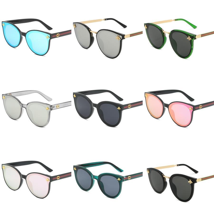 Vidrio de oro rosa para hombre Aviador gafas de sol polarizadas Mujeres conducción UVA Polaroid gafas de sol de espejo 2020 # 513