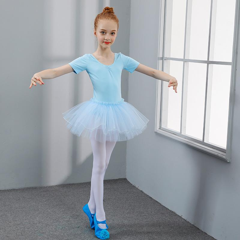 2020 Beautiful Girls Ballet Tutu Dress Dance Clothing Costumes Gymnastics Leotards Kids Training Princess Flower Skirt From Jigsaw 15 37 Dhgate Com