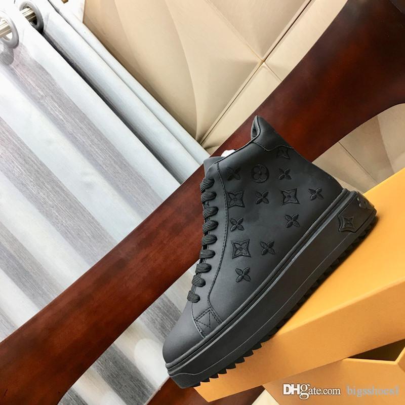 20 Trainer Comfort pattini casuali sport della scarpa da tennis di alta qualità calza Heelback Mens Sentiero Tennis