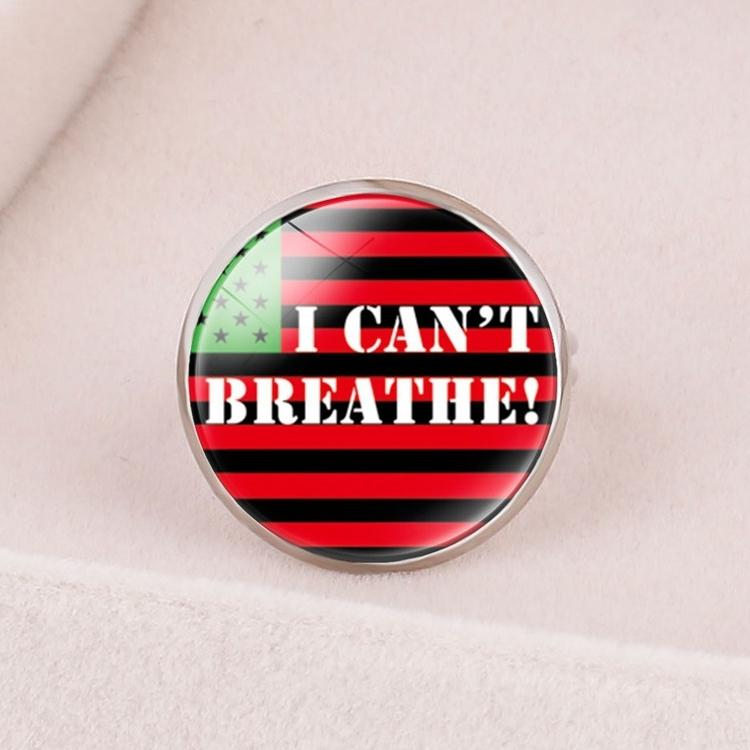 9 style Black Lives Matter rings I Can't Breathe Protest Open Finger Rings Hot Sale adjustable Personality ring jewelry Wholesale BJJ525