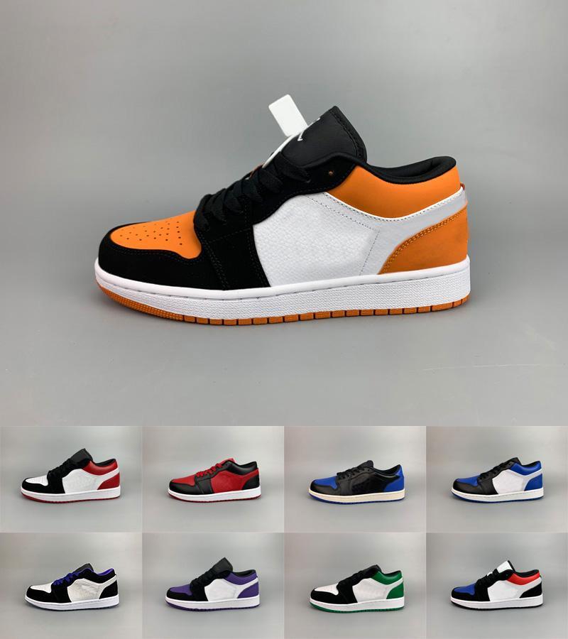 zapatos de diseño bajo 1 OG MID X Travis Scotts Ts zapatos de deporte de alta 1s verde menta Turbo Verde Blanco Rojo Azul Verde Menta para hombre mujeres sneakers36-47