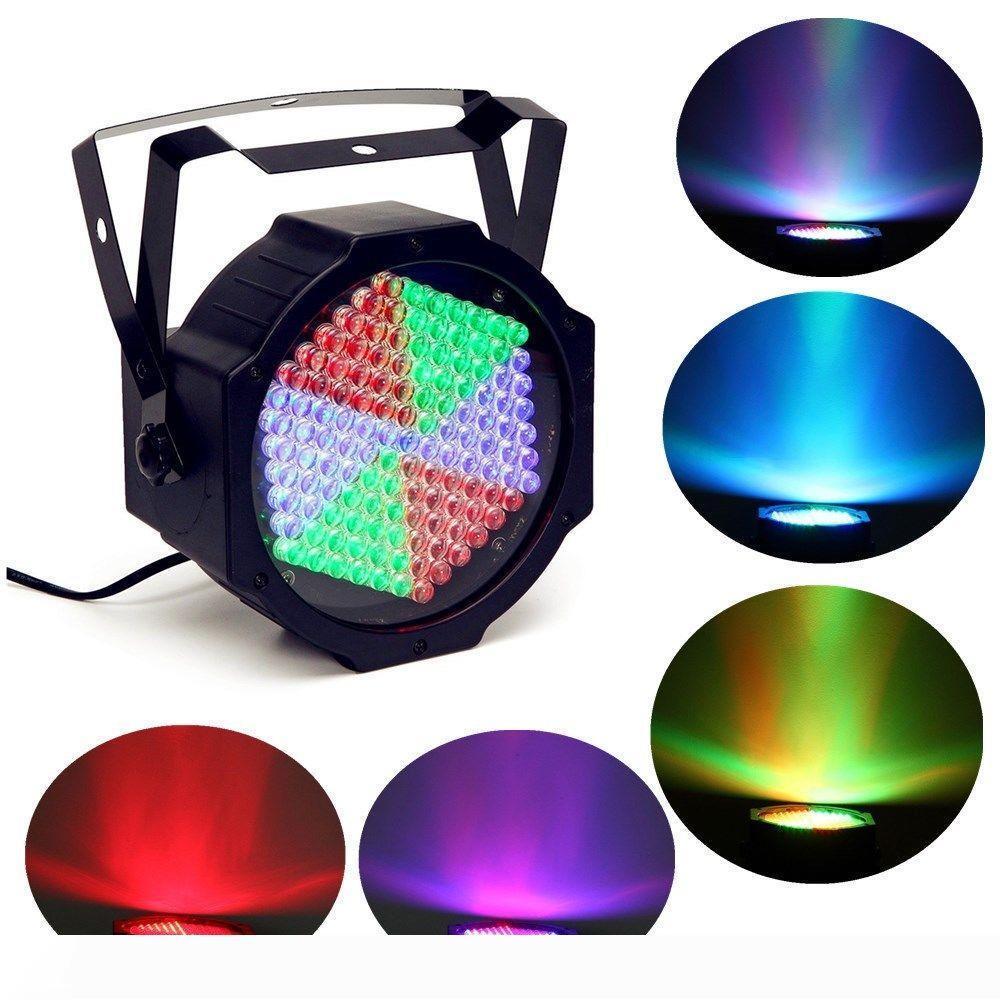 Profesional de la igualdad del LED RGB 127led efecto etapa luz LED de luz LED PAR 7CH luces del disco de DJ