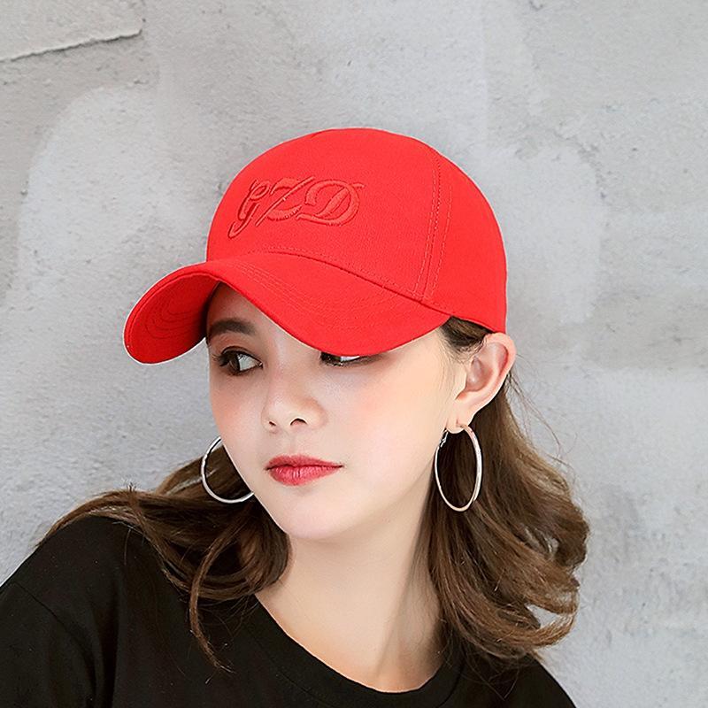 Nuevo japonés y coreano del verano del sombrero del sombrero del casquillo gorra de béisbol al aire libre protector solar protector solar de béisbol de la letra los deportes de los hombres de las mujeres