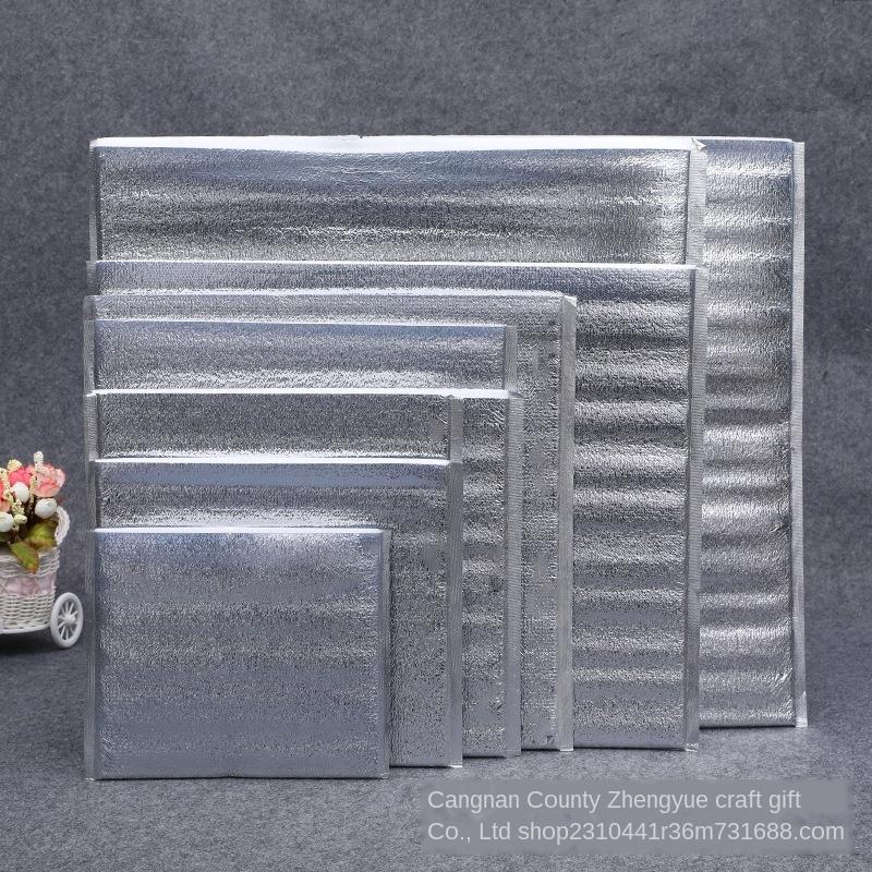 Verdickte Baumwolle Aluminiumfolie Wärmedämmung Beutel frisch gekühlten Aluminiumfilm Pearl Wärmedämmung bag