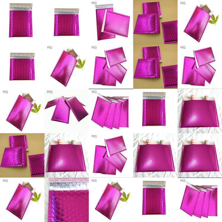 С3 Металлический Горячий Розовый проложенные Bubble Конверты Кол-во 50 320мм х 450мм С3 Горячий Розовый Металлический проложенный Мешок пузыря 4 С3 Металлические home003 FrSpB