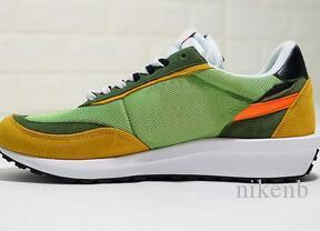 Sacai LDV Waffle Trainers Mens Sneakers For Women fashion designer Breathe Tripe S Sports Outdoor Shoes 5-11