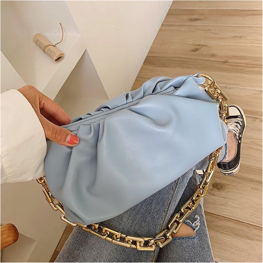 Design Krokodil-Muster Klein PU-Leder-Schulter-Beutel für Frauen 2020 Solid Color Handtaschen Female Travel Handtasche Totes # 995
