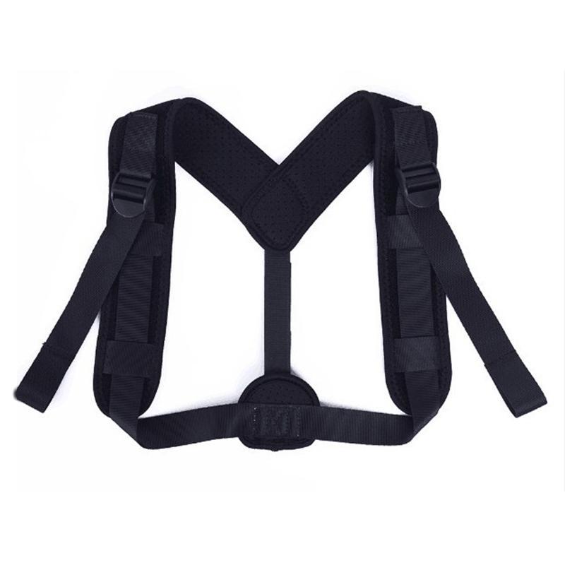 TOP! Ajustable elástico Corrector de Postura espalda hombro de compresión Brace Cinturón clavícula Atención sanitaria de Deportes