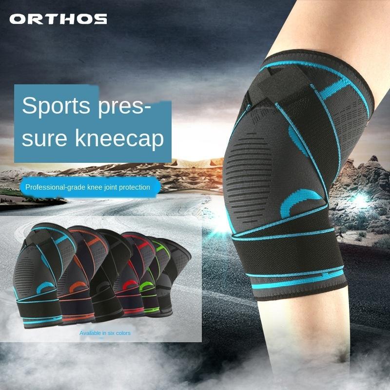 Otis bandage de compression de huit caractères Sports de plein air équitation sports de plein air antidérapante bandage tricoté perméable à l'air genouillères