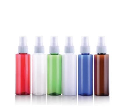 100pcs 100ML Spray bottiglia della pompa, plastica contenitore cosmetico, profumo vuota Sotto-imbottigliamento con nebbia atomizzatore piatto spalla