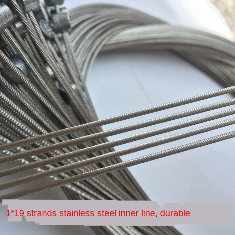 Переменная скорость подачи проволоки основной горной дороге складной автомобиль из нержавеющей стали регулировка скорости сердечника провода внутренний велосипед Велосипед