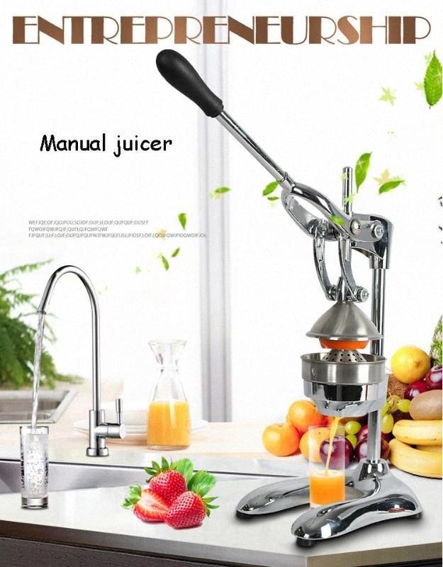 Нержавеющая сталь Цитрусовые соковыжималка Оранжевый лимона Соковыжималка Lemon Fruit Machine Нажатие Пресс Соковыжималка h9xQ #