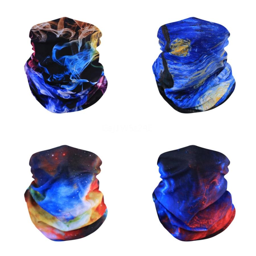 Neck Alf Fa Mout Bandanas Dust Mask Gost Outdoor Sport Cycling Camping Running Iking Women Man Magic Scarf#442