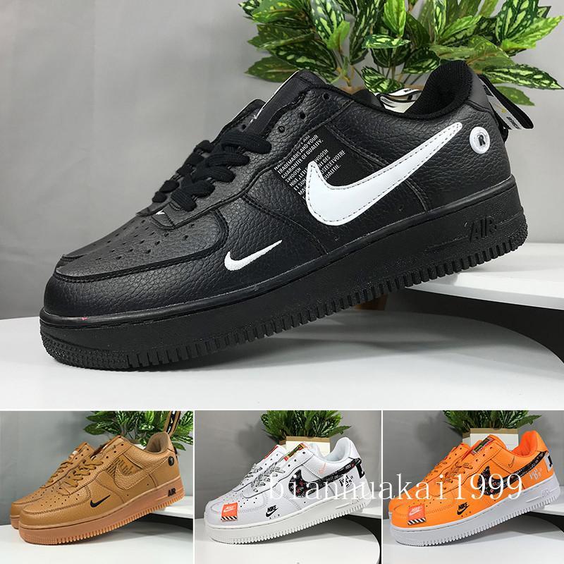 Nike Air Force 1 One Af1 Nike air force 1 one One 1 Dunk Mens Women Running Shoes Casual Sportivo Skateboarding Alto Basso Cut Nero Bianco grano a buon mercato Trainer Sport Snea