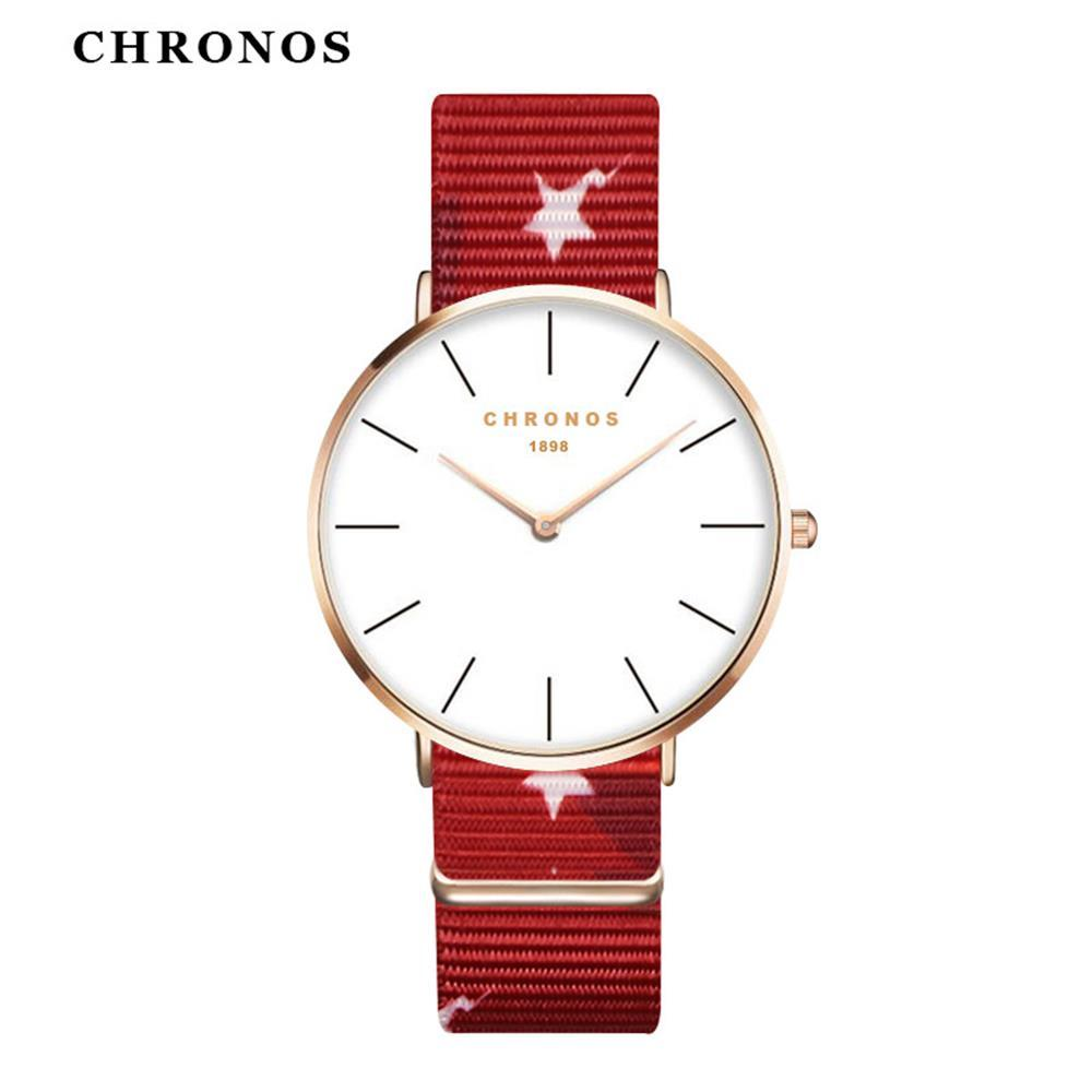CH20 Lovers watch fashion nylon watch strap student trend quartz watch