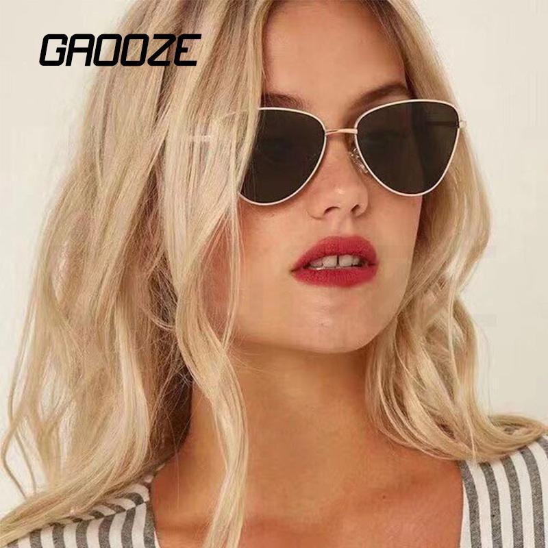 GAOOZE Солнцезащитные очки Женщины Щит Классический очки для вождения / путешествия Мужской ВС стекла солнцезащитных очков Женщина с антибликовым покрытием очки LXD62
