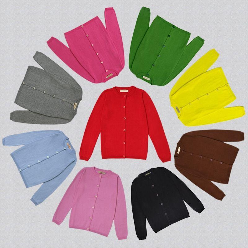 одежда Mom Put Мама PUT мать 1DNGT 19 новых Ins осенью чистого хлопок сплошного цвета свитер трикотажного кардигана пальто родитель-ребенок матери с
