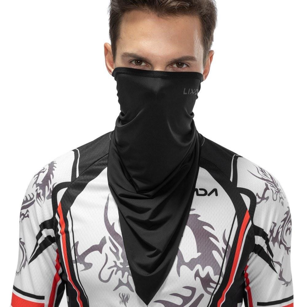 할로윈 하프 페이스 마스크 얼굴 커버 오토바이 목에 스카프를 타고 머리띠 방한모 스포츠 여름 자외선 차단 자전거 목도리