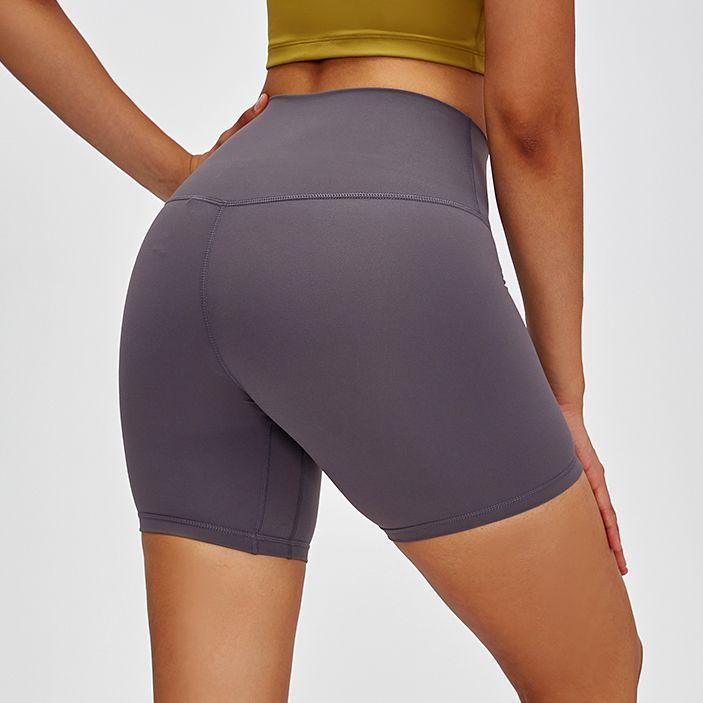 Lulu Style Bodybuilding Athletic Sports Fitness Compression Run Womens Gym Yoga Shorts