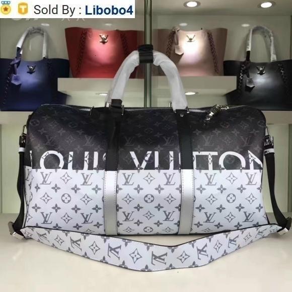 libobo4 M43412 НОВЫХ РЕАЛЬНЫЕ КОЖИ РАДУГА белая / черная 50 LUGGAGE ТОТЫ сумка сумка плечо Crossbody HANDBAGS Тотализаторы Boston Сумка