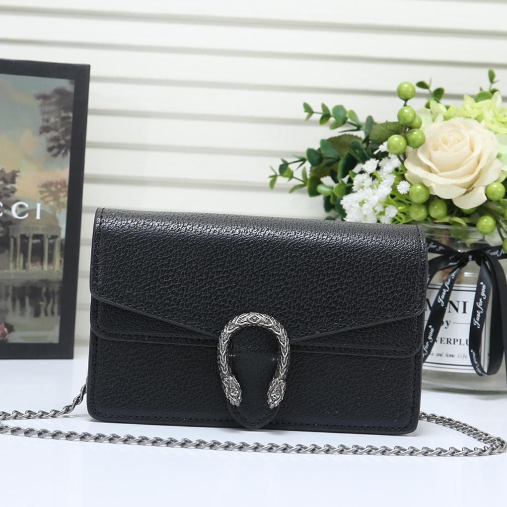 Быстрая доставка Высокое качество Женская сумка Sac D '; éPaule цепи кожи Crossbody сумка плеча малого щитка конструктора Luxury Ladies Коммуникатор B