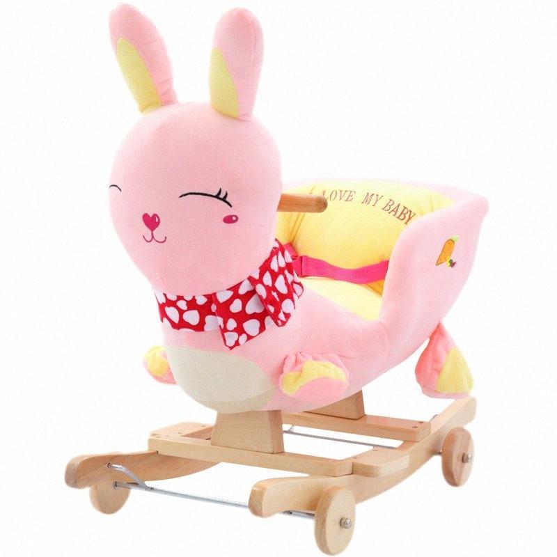 Kingtoy Плюшевые Детские качалка Дети Вуд Качели Сиденье Дети Открытый ездить на качалка Прогулочная коляска игрушки 0CVD #