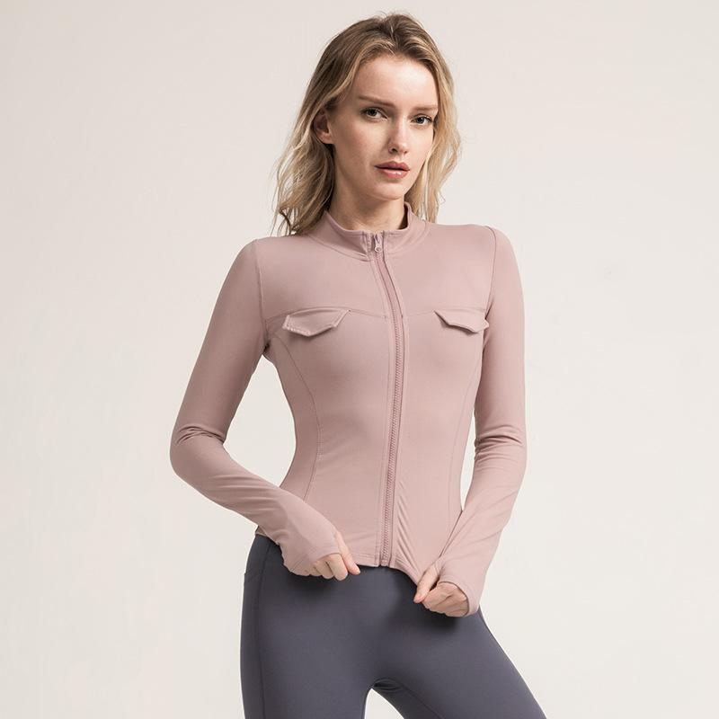 Neue feste Farbe Yogaklage Sport Damen der Gymnastikkleidung läuft 10071-6