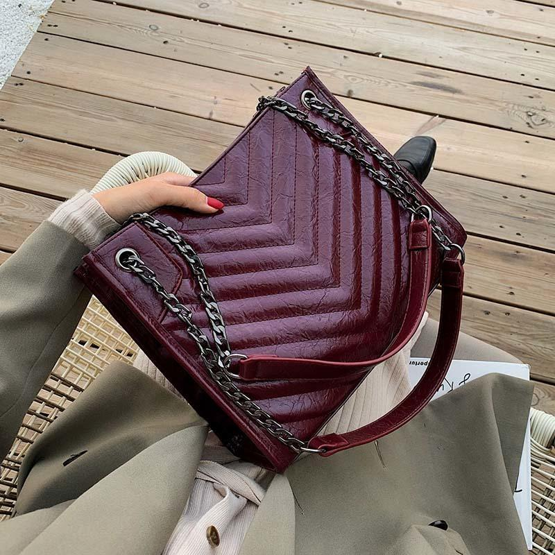 Solid Color Pu Leather Chain Crossbody Bags For Women Black Friday 2020 Quality Shoulder Bag Lady Travel Handbags Winter Totes Ivanka Trump Handbags Best Messenger Bags From Caibinstores 46 61 Dhgate Com