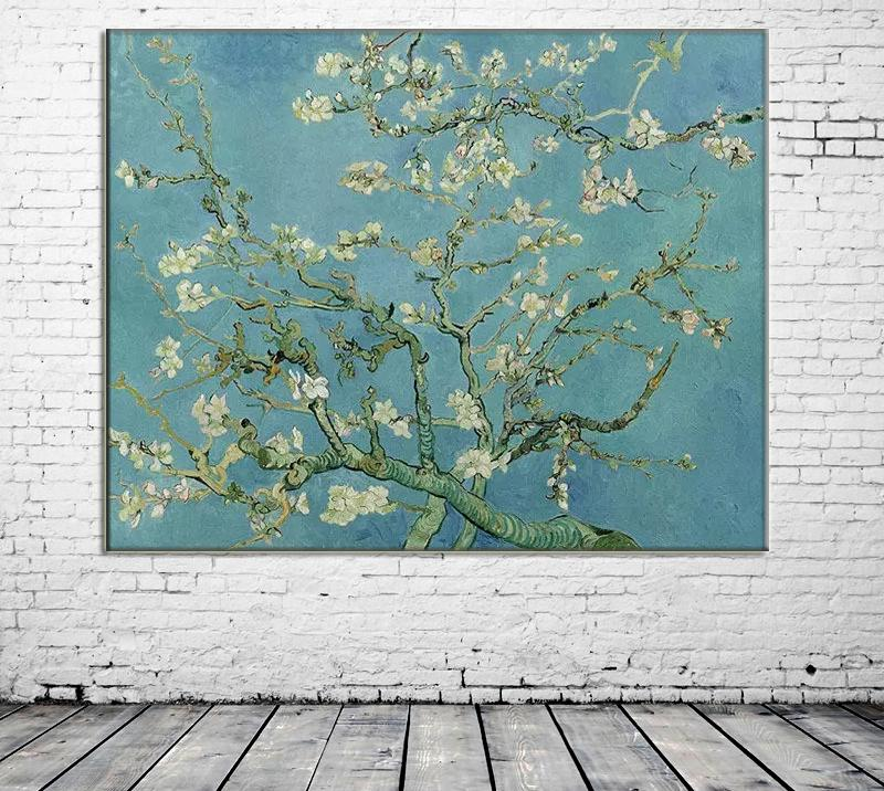 ZYXIAO flower Plum blossom Print Oil painting on Canvas Professional Art Poster No Frame Wall Picture for Living Room Sofa Home Decor ys0197