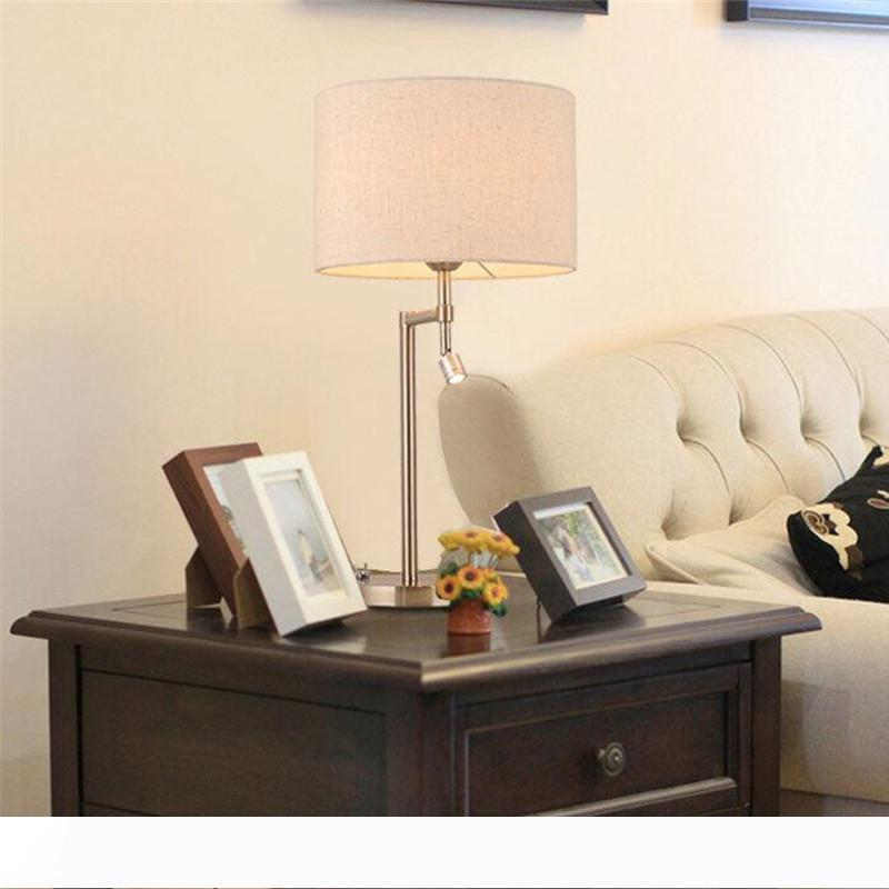 Nordic studio camera da letto salone creativo moderno di moda lampada da scrivania, leggendo minimalista scrivania ferro da stiro tavolo americano lampada LR003