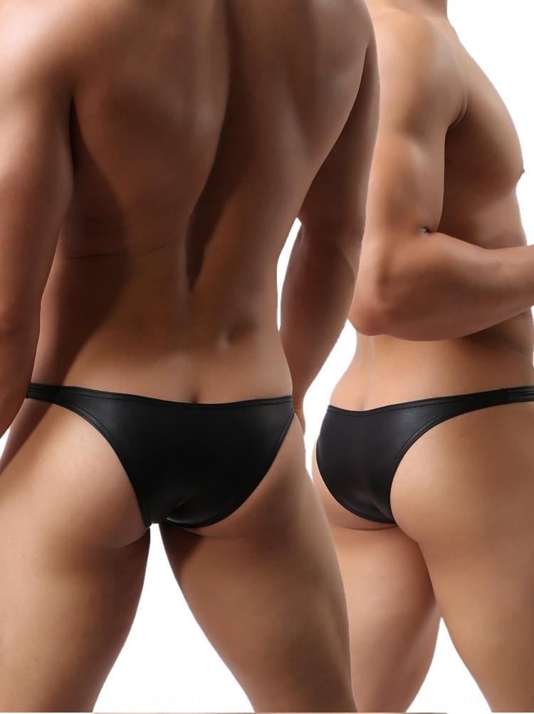 in pelle verniciata 4pPwh fase sexy mutande degli uomini piccoli riassunti dei e della biancheria intima sexy prestazioni WOWHOMME C39