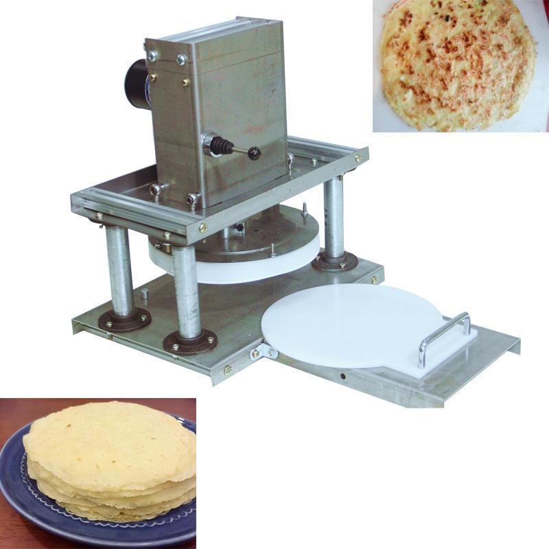 Elektro-Pizza Teigplatte Pressmaschine 22cm Weizenmehlteig Schnappen sheeter Maschine Kuchen, der Maschine Tortillahersteller