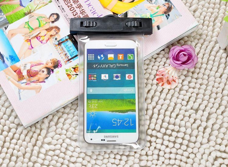 Téléphone portable sac de téléphone bagmobile sport transparents de ceinture de bras imperméables bras ceinture PVC sac imperméable à l'eau