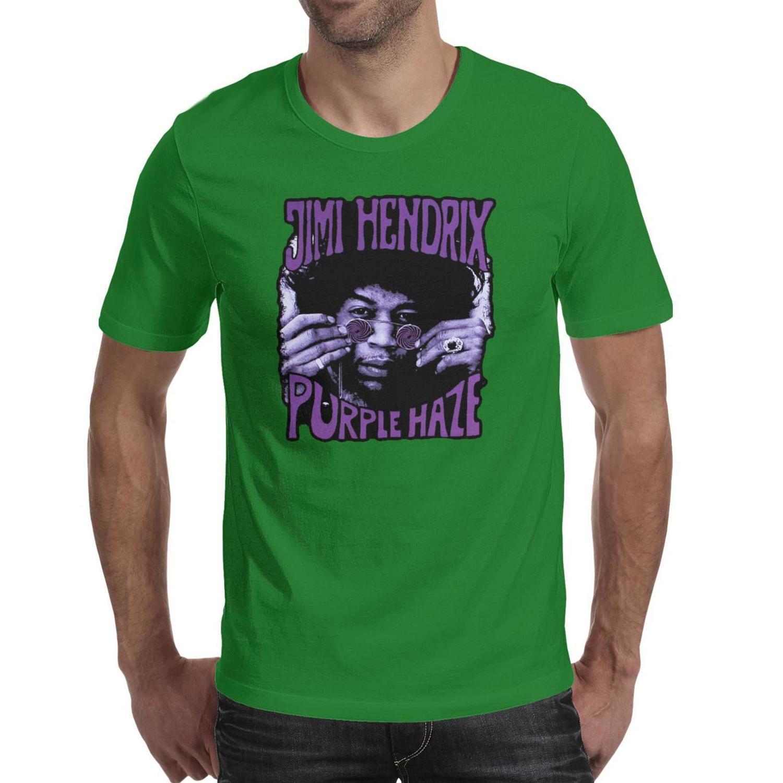 shirt da forma dos homens de Jimi Hendrix Splatter Poster azul redonda pescoço t shirts Campeão Printing Purple Haze Retrato Vector vector colagem