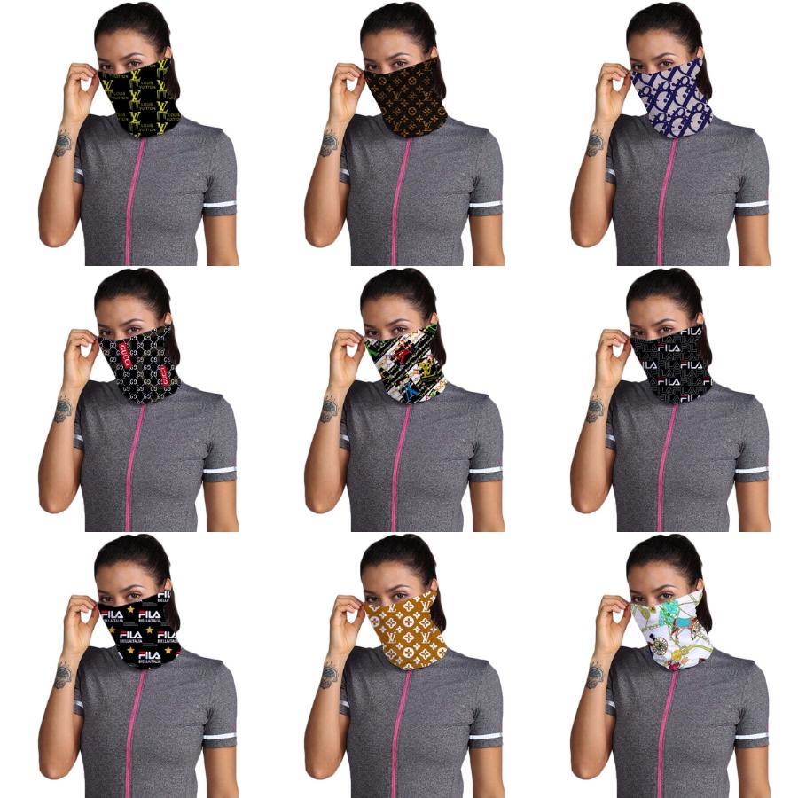 2020 Máscara Facial Máscaras Eleição americana lavável Printing contra pó Ciclismo Outdoor Neck Magia Cachecol Bandana Máscara Designer LJJ # 65 # 371 # 916 # 889